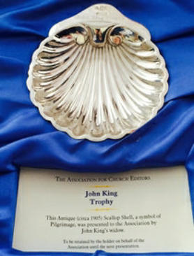 The John King trophy awarded to winner of the ACE awards