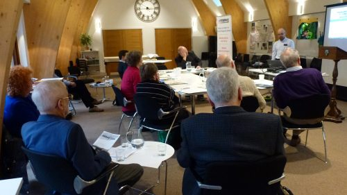 Image of attendees at the February 2020 workshop in Sonning, Berkshire