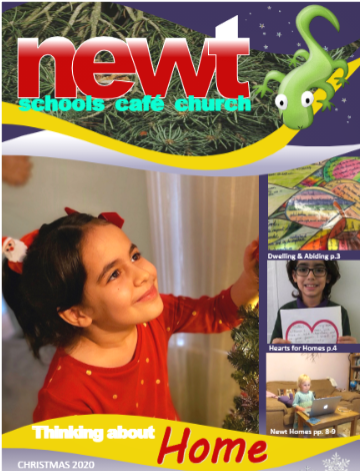 cover of the December 2020 edition of Newt magazine, winner of our 2021 Gold award